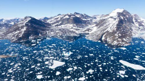 Groenlanda se topește rapid. Cât de rău arată lucrurile din spațiu FOTO