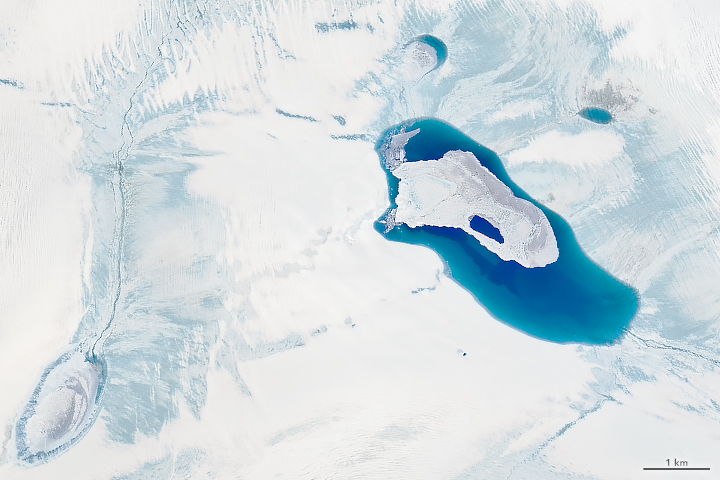 Groenlanda spațiu ghețari