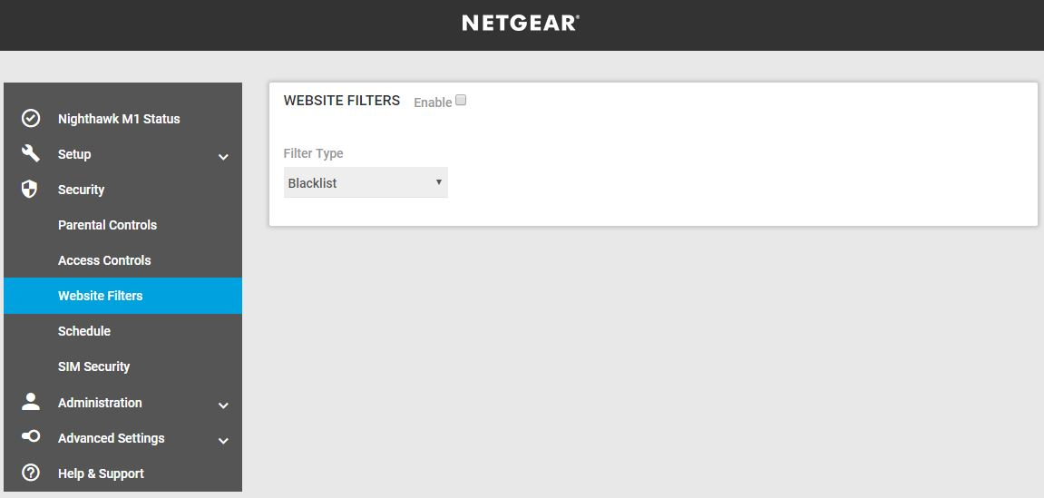netgear nighthawk m1 platforma web control