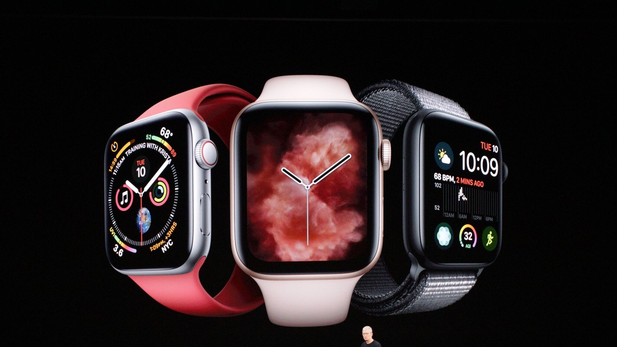 Apple Watch Tim Cook lansare iPhone 11