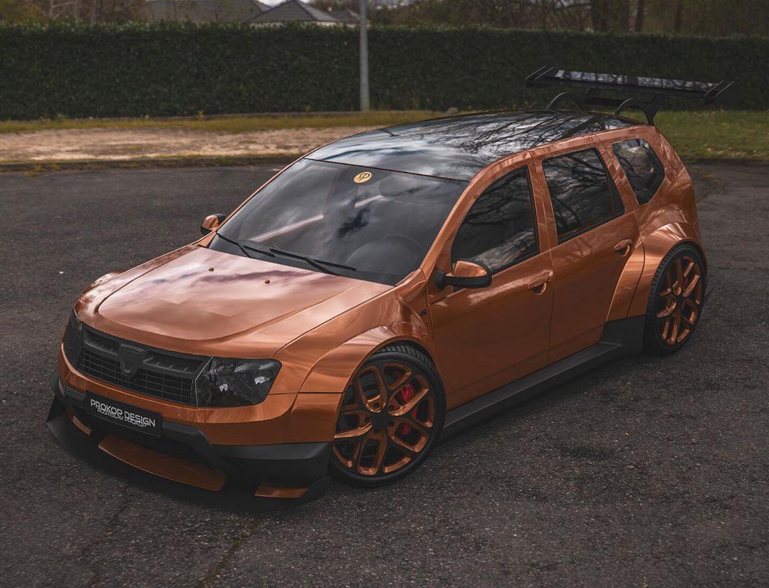 Dacia Duster concept raliu