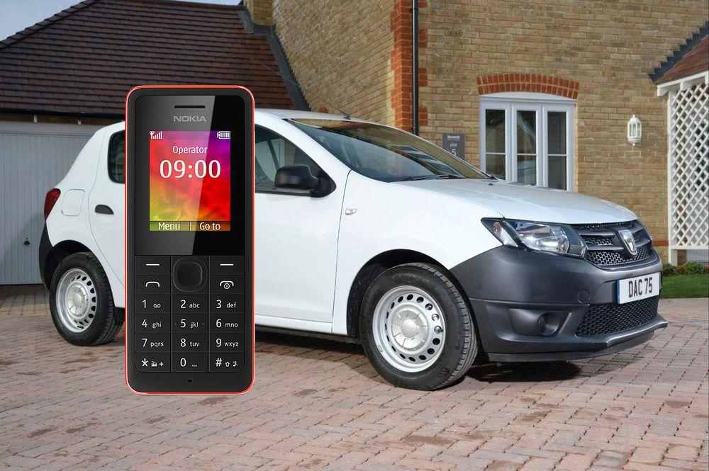 Dacia Sandero telefon Nokia