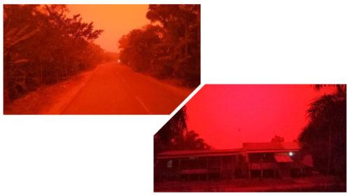 """Țara care s-a """"transformat"""" în Marte: de ce a devenit cerul roșu"""