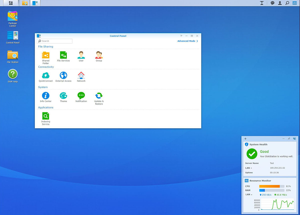 Interfata DMS NAS Synology (3)