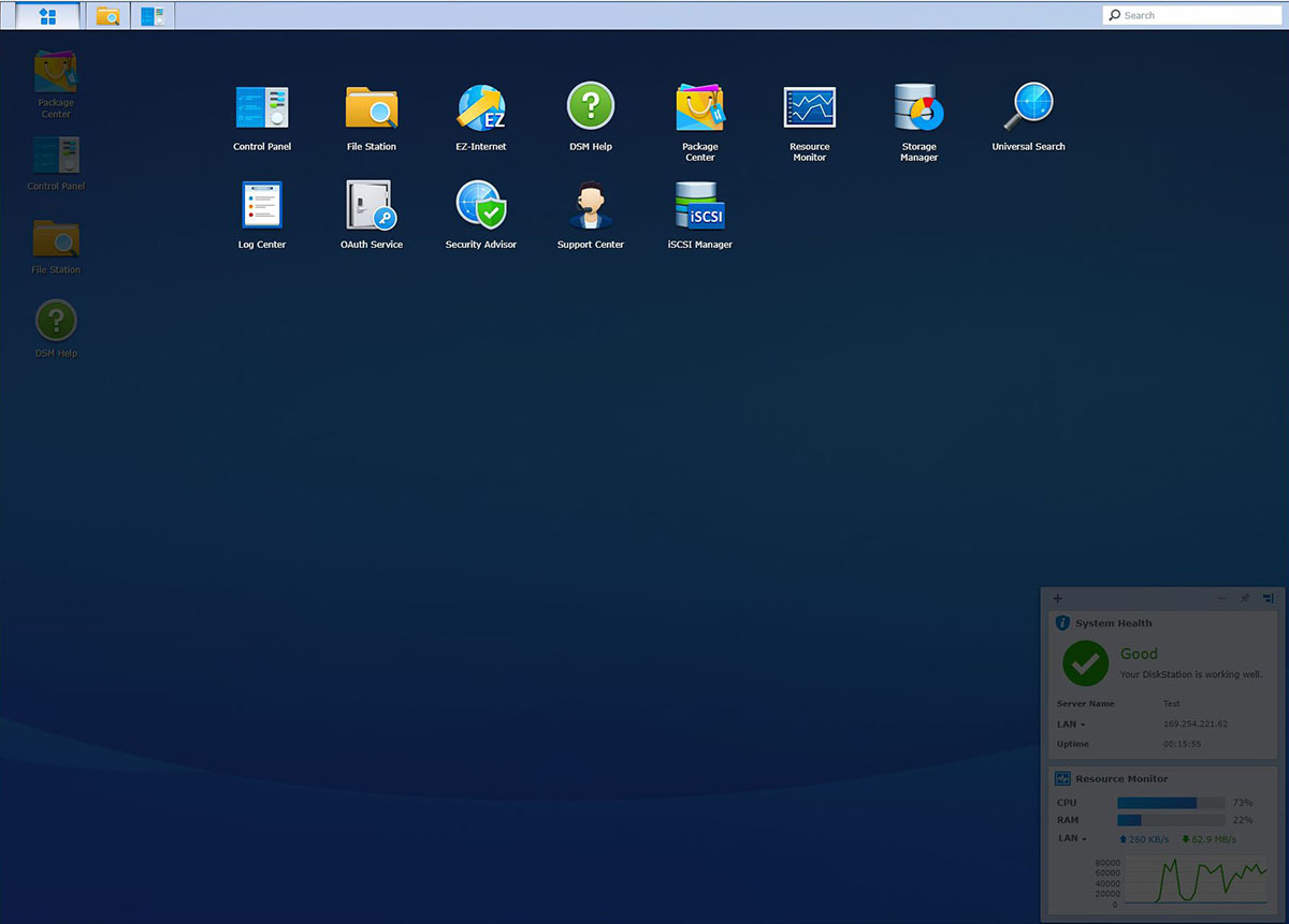 Interfata DMS NAS Synology (4)