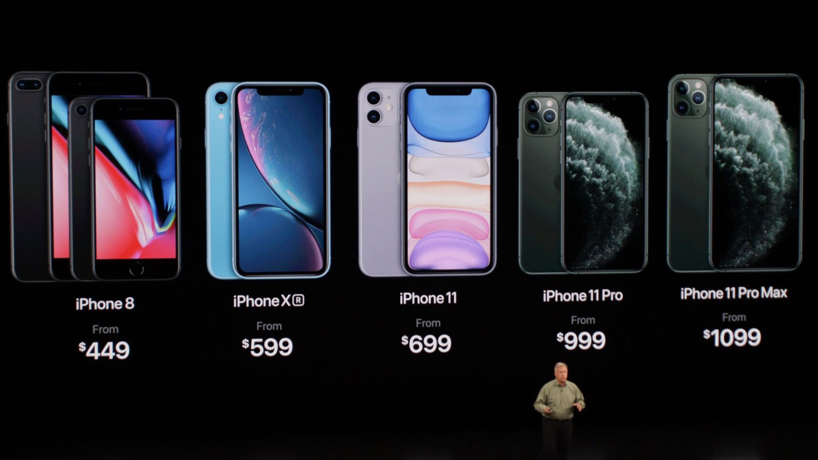iPhone linie telefoane Apple pret