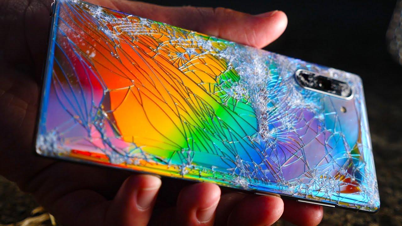 Galaxy Note 10 ecran spart