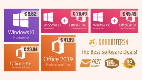 Cele mai tari oferte de toamnă: Windows 10 la 9,62 euro și Office 2019 la 41,99 euro