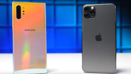 iPhone 11 Pro vs. Samsung Galaxy Note 10: care telefon e mai rapid?