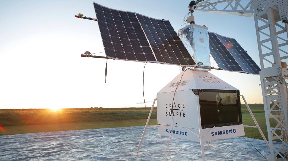 SpaceSelfie Samsung