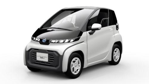 Cea mai mică mașină electrică de la Toyota pare Smart