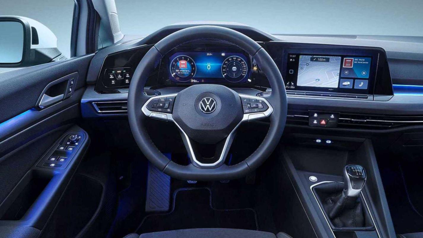 Volkswagen Golf 8 bord