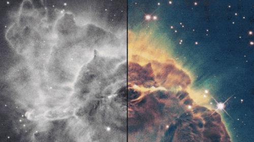 VIDEO Pozele realizate de NASA în spațiu sunt alb-negru. Cum le face color
