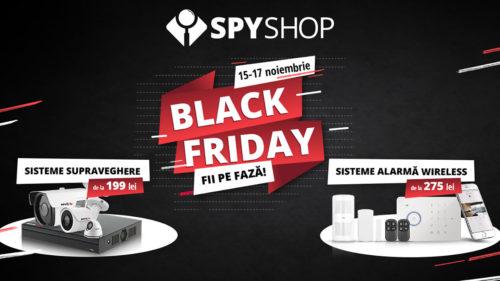 Black Friday la Spy Shop: reduceri la peste 1.000 produse de securitate și supraveghere video