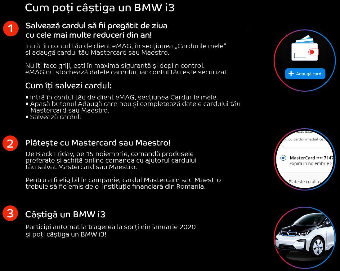 Black Friday eMAG BMW i3