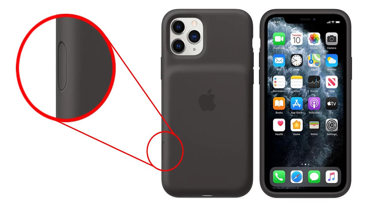 Buton dedicat cameră iPhone 11