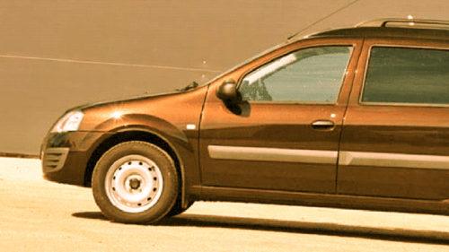 Cea mai ciudată Dacia Logan arată ca un dric. Care-i povestea ei?