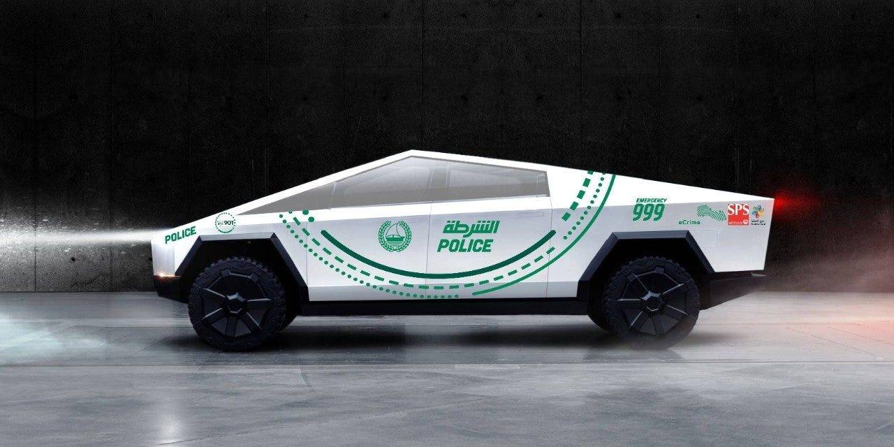 Poliția din Dubai vrea Tesla