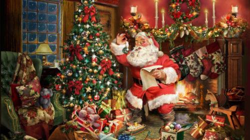 Cum arată prima felicitare de Crăciun din lume