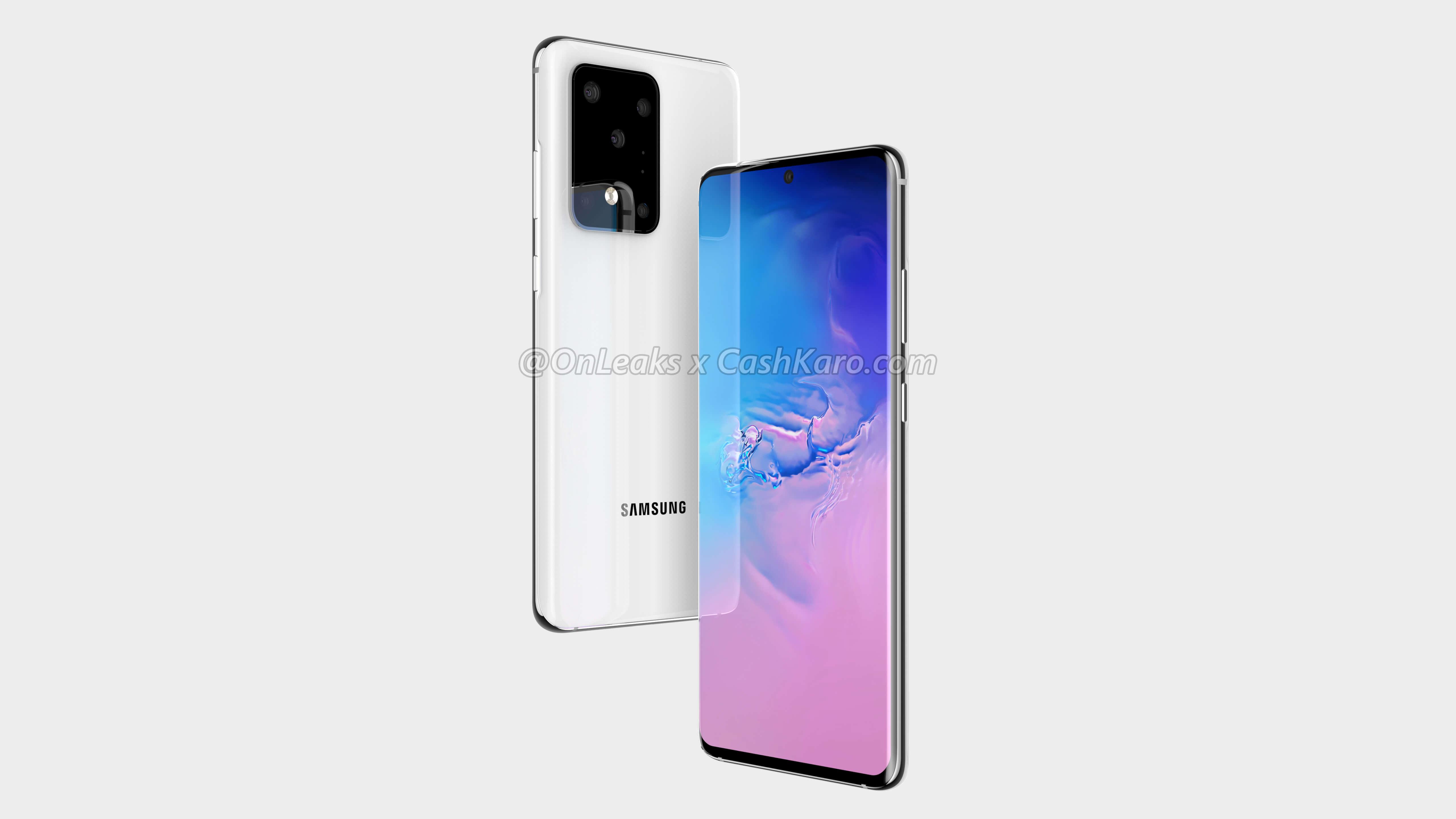 Samsung Galaxy S11 Plus render (3)