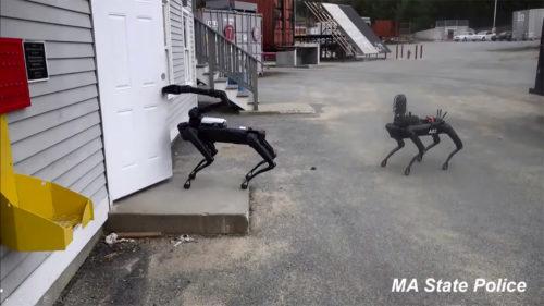 Primul pas către Robocop: câinii roboți au început să fie folosiți de Poliție