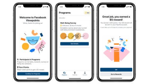 Facebook vrea să faci bani din sondaje și a lansat o aplicație pentru asta