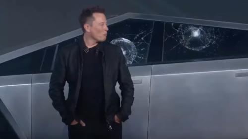 Elon Musk îți arată cum ar fi trebuit să reacționeze geamurile de pe Tesla Cybertruck la evenimentul de lansare