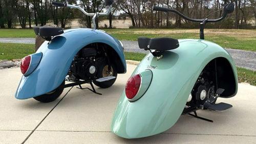 A transformat un Volkswagen Beetle în scutere: cum arată creațiile motorizate