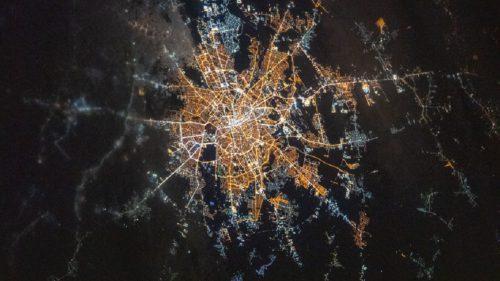 București văzut din spațiu: cadoul unui astronaut pentru români