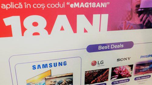De ce are eMAG mii de reduceri azi la produse Samsung, Huawei și nu numai