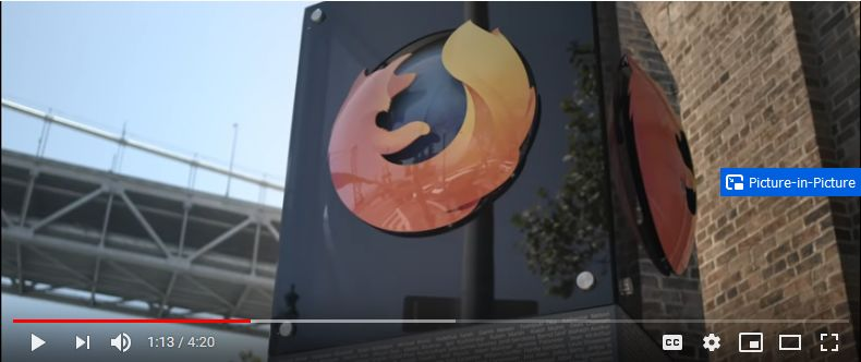 firefox pip picture in picture