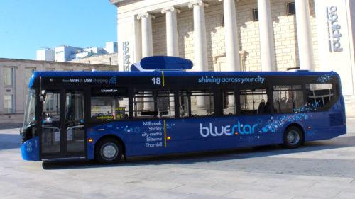 Autobuzul care curăță aerul, invenția de care ai nevoie în București
