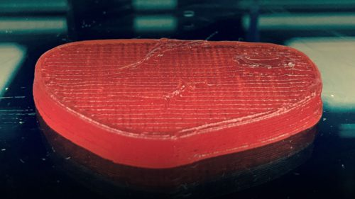 Carnea printată 3D pe care nu o deosebești de cea reală