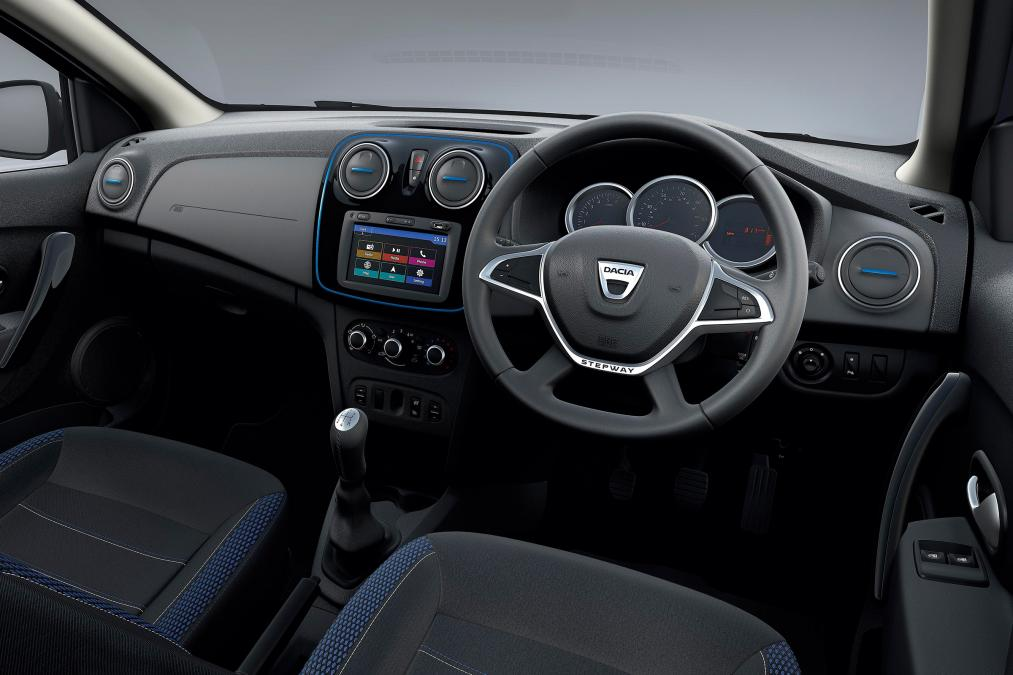 Dacia Duster SE Twenty interior