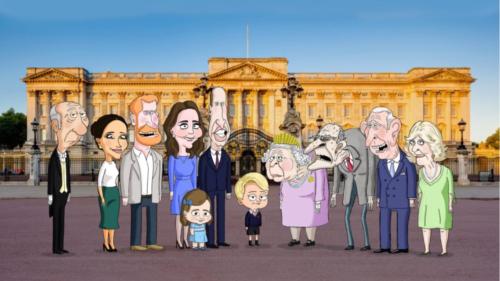 Familia regală britanică, subiect de satiră într-o nouă animație de pe HBO