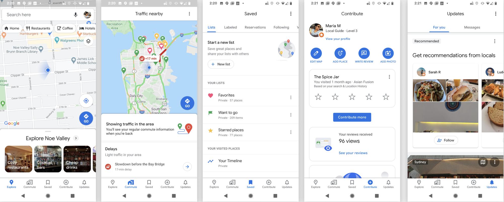 Google Maps actualizare schimbare