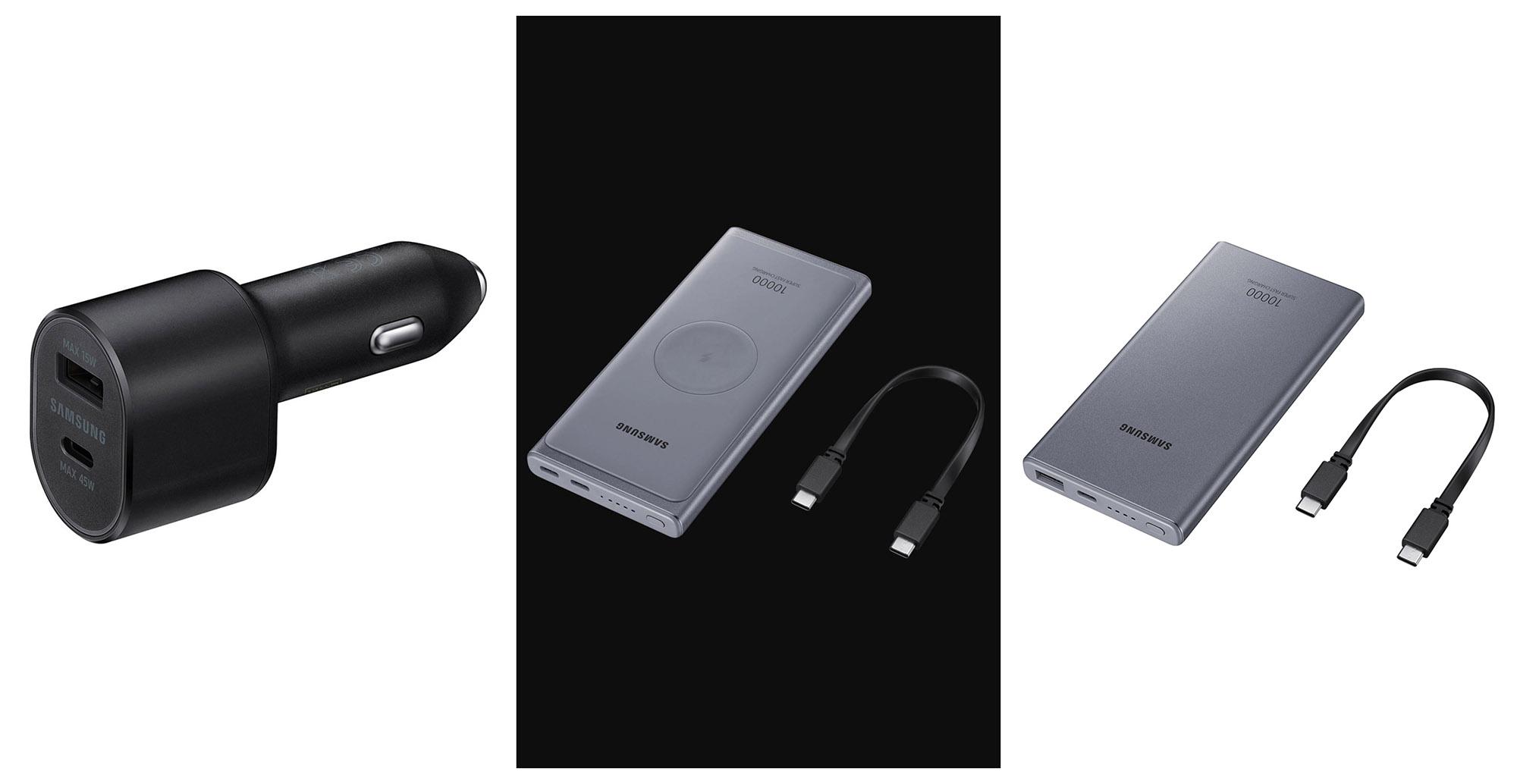 Samsung accesorii baterie externa incarcator masina Samsung S20