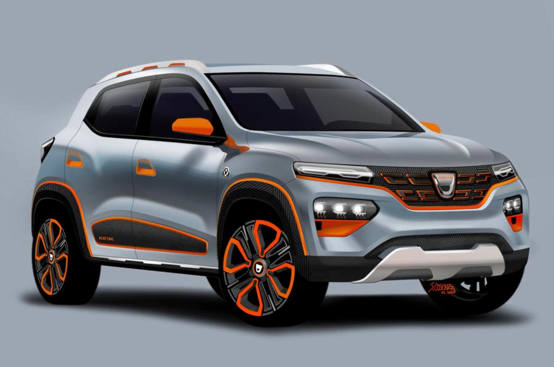 Dacia Spring primul model electric