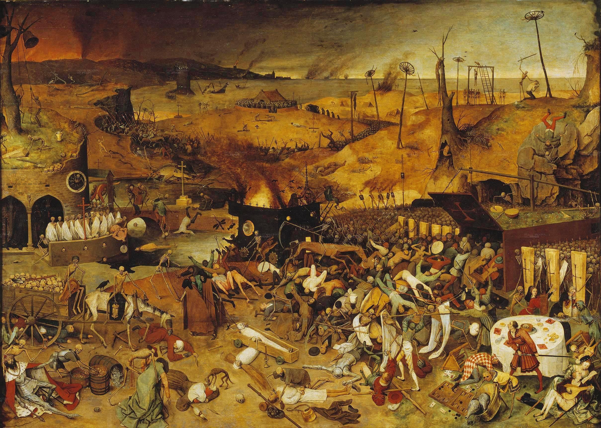Pieter Bruegel Triumful mortii