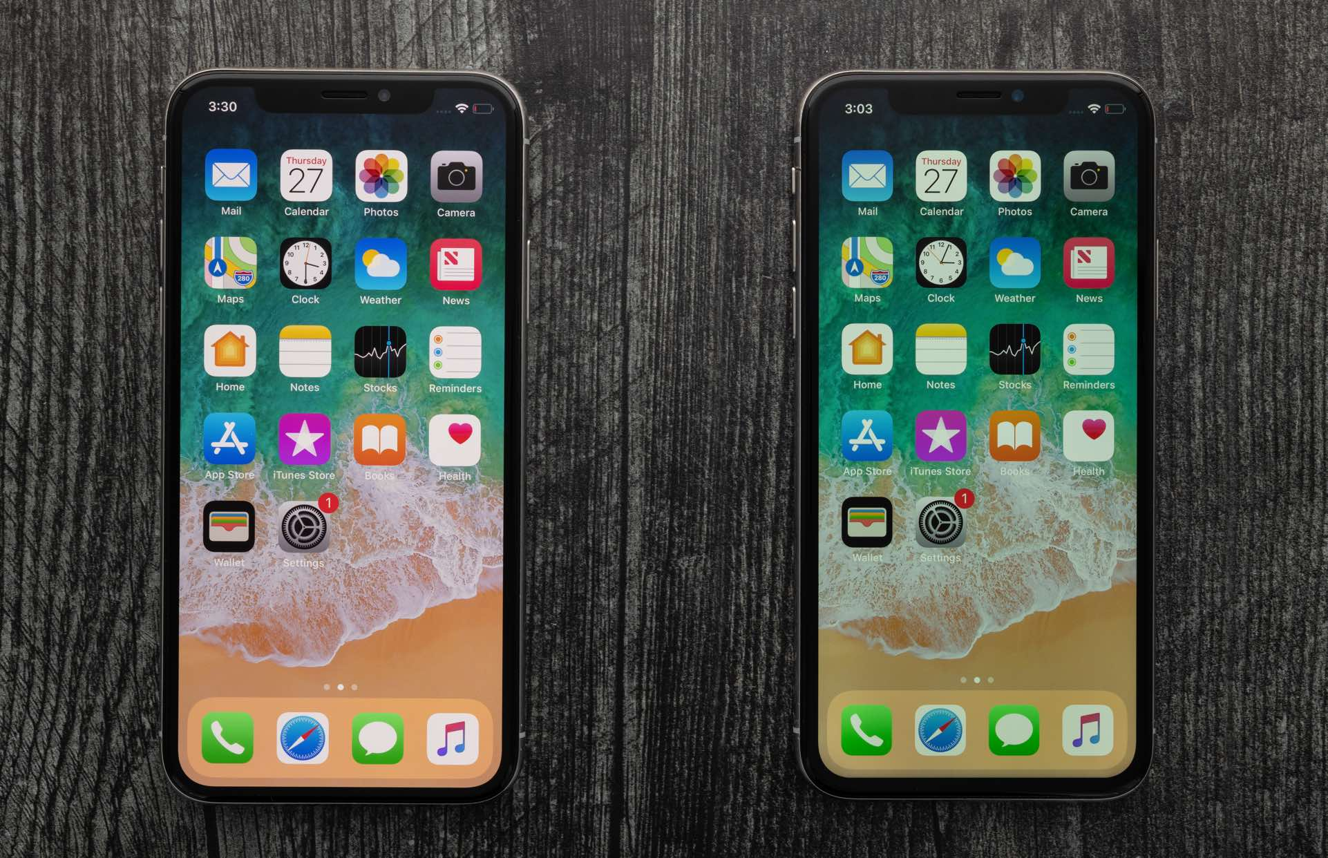 iPhone ecran OLED versus ecran LCD