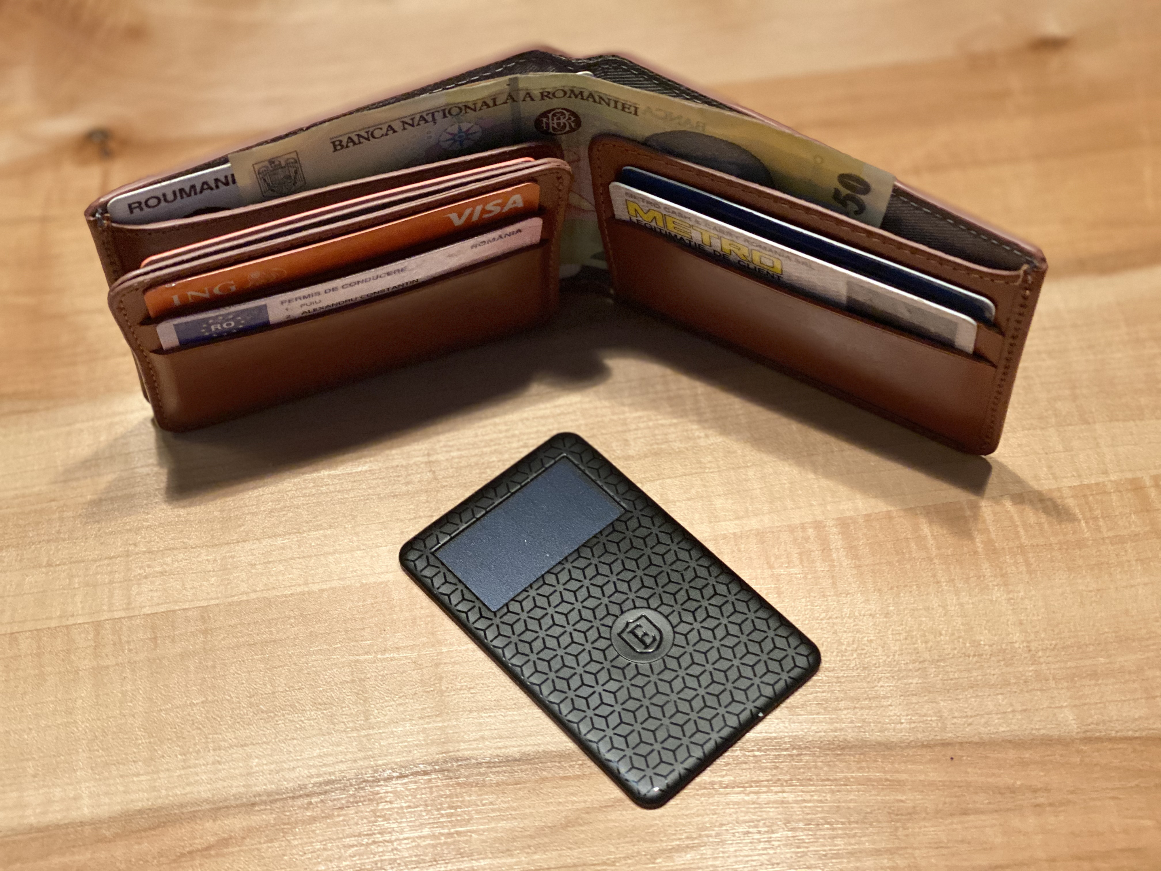 Ekster Smart Wallet portofel inteligent 4