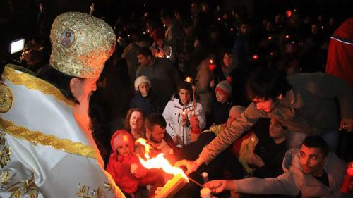 """Învierea """"de Constanța"""", virală pe internet: câte vizualizări a făcut, chiar dacă nu este """"adevărata slujbă a Învierii"""""""