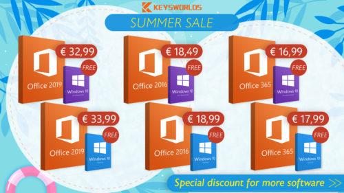 Ofertă specială de vară: Windows 10 gratuit când cumperi Office! Office 2016/2019 și Windows 10 la cel mai mic preț [P]