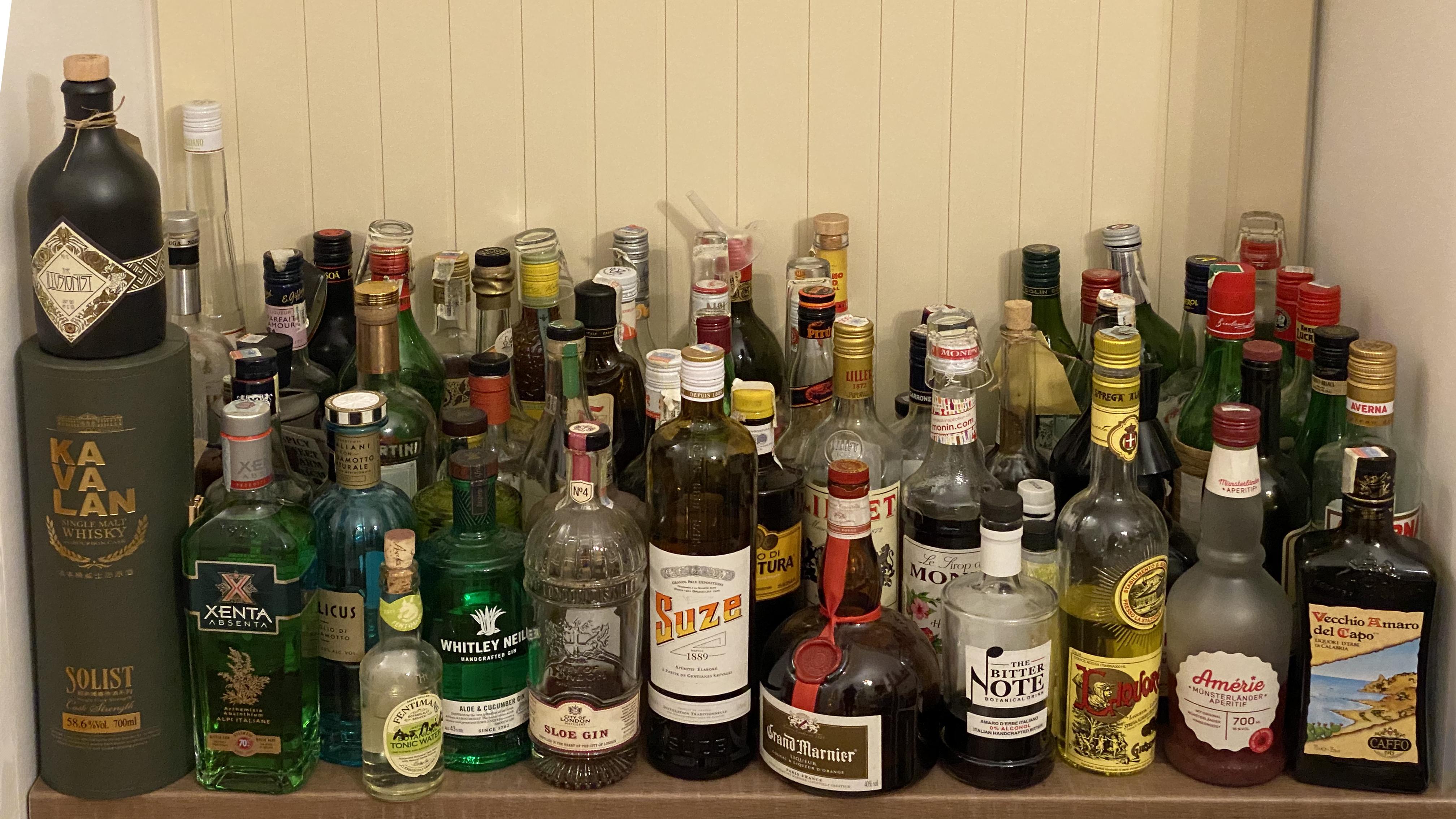 sticle mixologie cocktailuri acasă