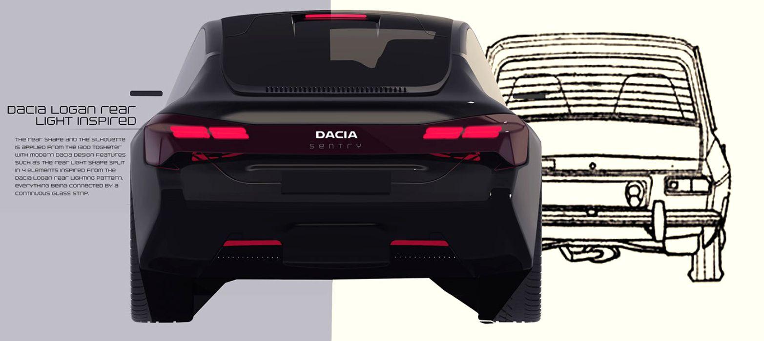 Dacia Sentry model Dacia 1300 in 2020 masina electrica