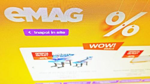 Reduceri la eMAG: televizoare de la 550 lei și telefoane Samsung, Huawei la prețuri mai mici