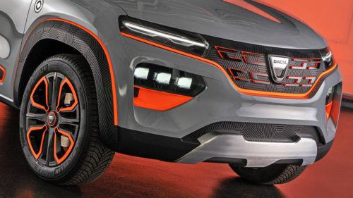 FOTO Cum arată, de fapt, Dacia electrică? Acesta va fi un model istoric pentru marca românească