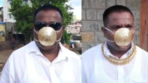 <span class='highlight-word'>VIDEO</span> Cea mai scumpă mască împotriva pandemiei este și cea mai inutilă