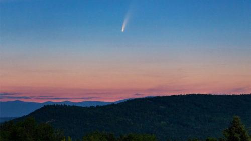 VIDEO Cometa pe care ai putea-o vedea chiar și din România luna asta