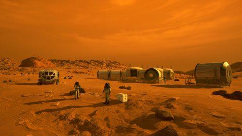 Omul care se ceartă cu NASA despre viața care ar exista pe Marte